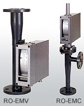 RO-EMC/RO-EMV TYPE screw type Industrial general metallic all flow meter