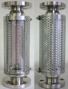 流量計保護カバー 金属製保護カバー パンチングメタル