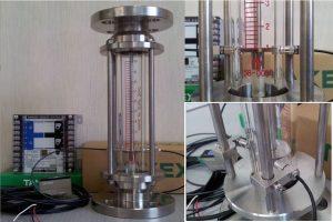 気体低圧用 警報接点 流量計